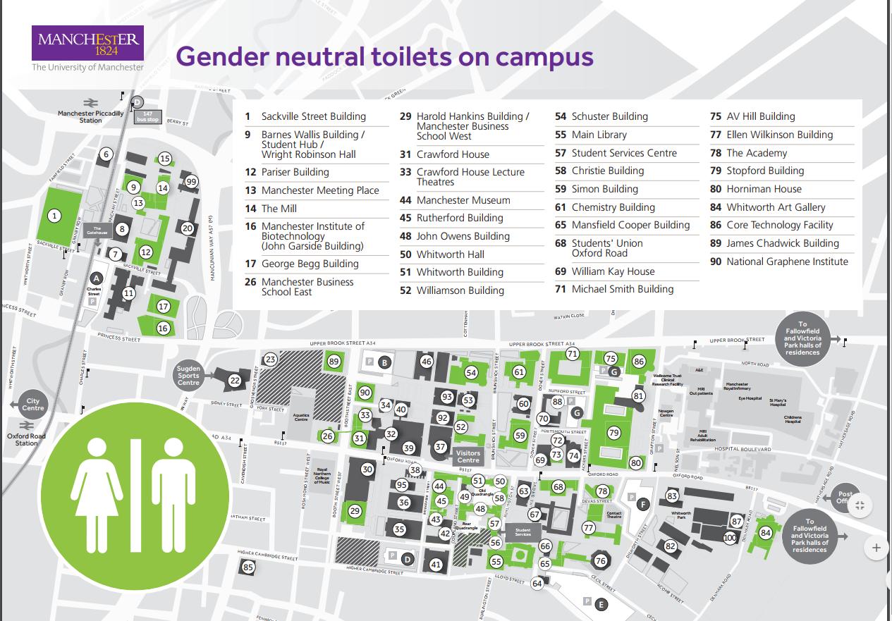 University Of Manchester Campus Map.Transedu Facilities